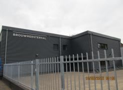 Realisatie gymzaal Brouwmeesterstraat