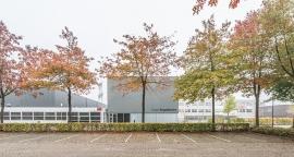 Nieuwbouw aula en mediatheek